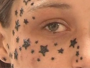 Stars are considering a tattoo design really sexy, but this is nothing more