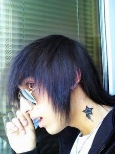 Label: neck tattoos, star tattoo neck, star tattoos, star tattoos designs,