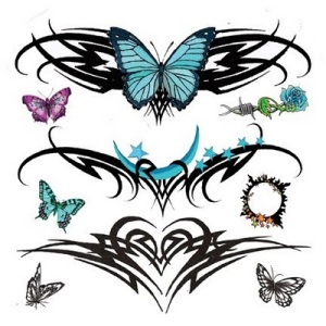 tribal lower back tattoo designs. tribal lower back tattoo designs