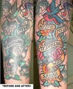 Choose a well trained tattoo artist who uses quality equipment.