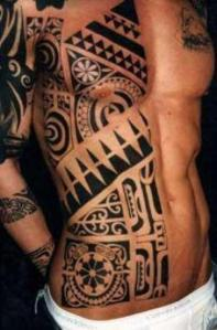 Polynesian Tribal Tattoos - Comparison of Maori and Samoan Tattoos