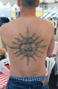 Sun Tattoos the populars tattoos - for every body
