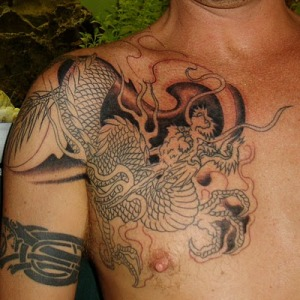 To view the gallery please click the next dragon tattoo.