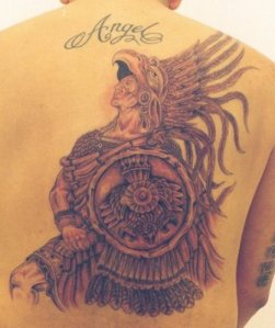 Back Tattoo Art and Design. Back Tattoo