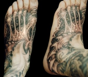 Enjoy this picture gallery of helpful biomechanical tattoo ideas.
