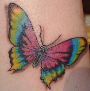 Butterfly tattoos are this kind