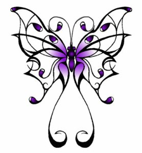 Temporary tattoo designs galleries: butterfly tattoo