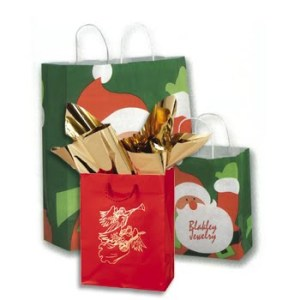 I always reuse gift bags that I've received (ha ha Foxy, yours is coming,