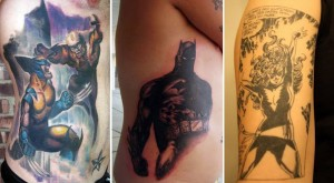 THE TOP 6 COMIC BOOK TATTOOS: Is Your Healing Factor Ready?