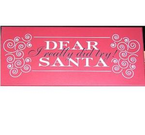 Christmas Gifts for Men: Dear Santa I Really DID Try!