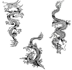 Dragon Tattoo Tribal Art and Design 5 Tribal Tattoo Dragon Art Gallery