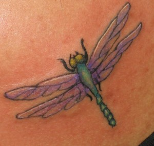 Dragonfly Tattoo Style