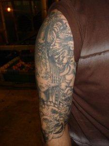 HR Giger Tattoo