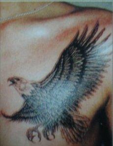 American Flag And Eagle Tattoos - American Eagle Tattoos