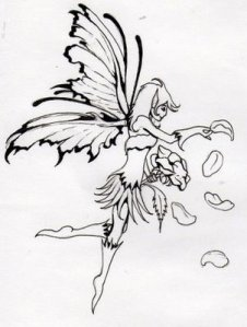 Fairy tattoos are very popular with women