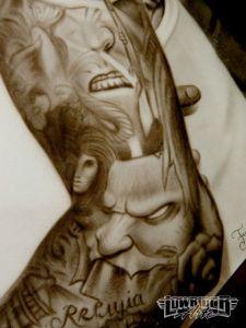 Franco Vescovi Sleeve Tattoo Design