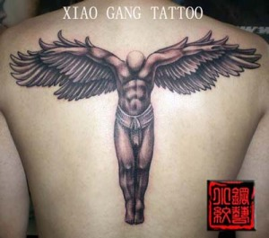 Labels: angel free tattoo design, back tattoo designs
