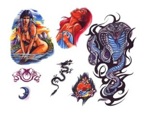 Free tattoo flash designs 79