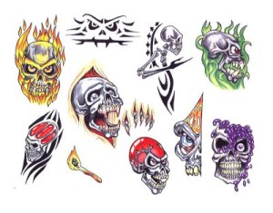 Free tattoo flash designs 103 · Free