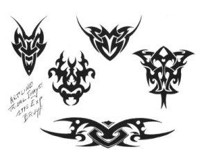 Free tribal tattoo designs 105