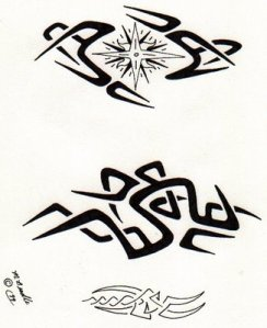 Free tribal tattoo designs 160 · Free