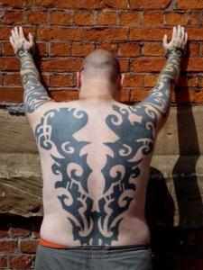 Full Body Tribal Tattoo
