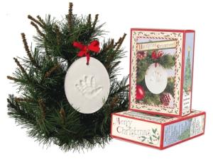 Amazon.com: child to cherish handprint ornament christmas: baby