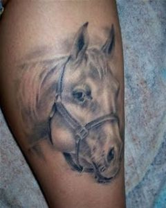 Horse Head Tattoos