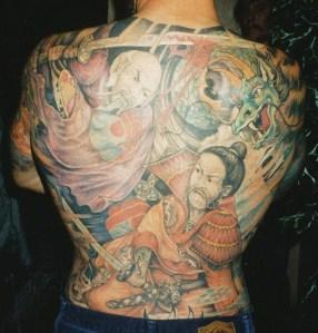 Body Back Japanese Tattoo