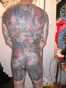 Japanese Dragon Tattoo. Posted by TATTOO at 11:08 PM