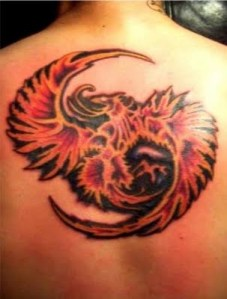 Priority of Art Japanese PHOENIX Tattoo Designs