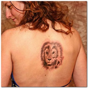 The Lion tattoos are known to symbolize different aspects of life.