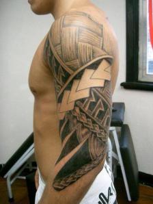 Arm maori tattoos for men