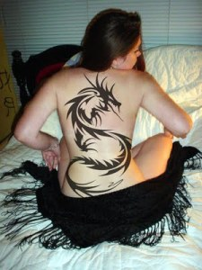 Sexy Design Japanese Dragon Tattoo and Design Tribal Dragon Tattoo image 2
