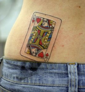 Labels: Cards Tattoo, Lifestyle, Queen Of Hearts Tattoo