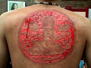 25 Insane Scarification Tattoos