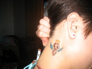 Best Designs Small Tattoo With Angel Tattoo Pics