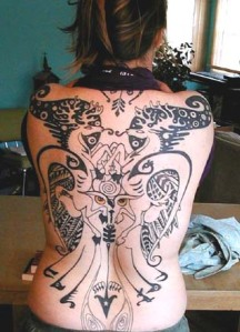 Back Tattoo- Free Tattoo Art