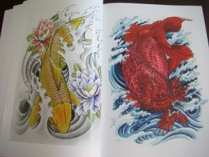 not to tattoo books, tattoo artist can learn, in the tattoo color and ideas