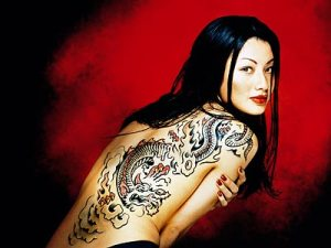tattoo design software: Tattoo Design On The Body Girl