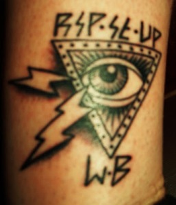 Got it done at Elm Street Tattoo shop by Oliver Peck, vans pro skate boarder