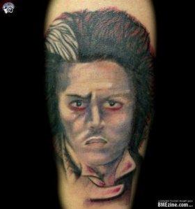Tattoos With Movie Stars