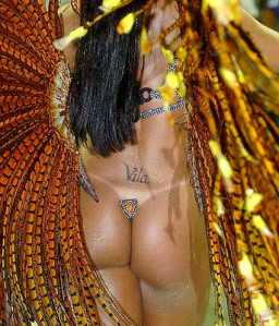 very seriously by all Samba Schools, not just a fancy show of plumes,