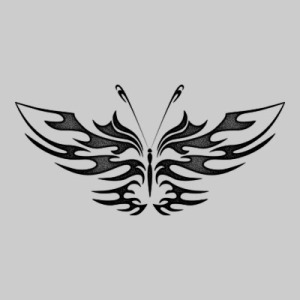 free images design butterfly tribal tattoo