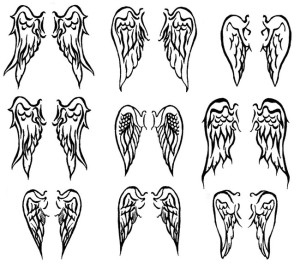 Wings Tattoo Design