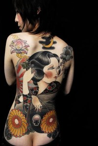 Yakuza Tattoo Girls