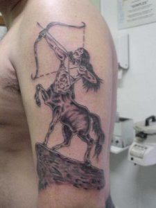Sagittarius tattoos designs pictures 2