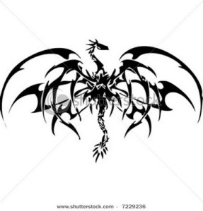 dragon tattoo vector Design. dragon tattoo vector Design