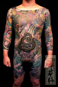 It's just that they pack with sub-par Japanese tattoos and tattoo artwork.