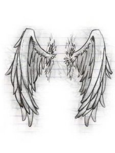 An angel wings tattoo will truly be a tattoo to cherish.